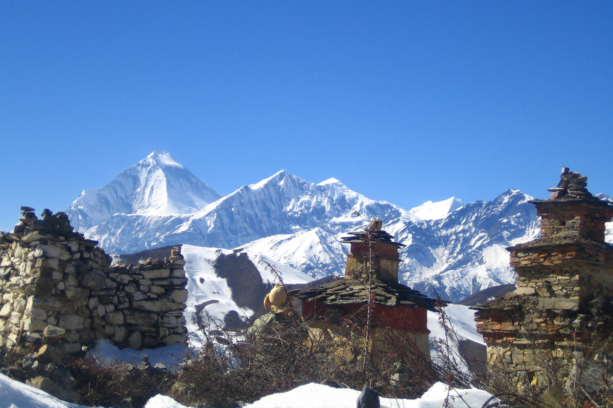 Muktinath and Jomsom trekking